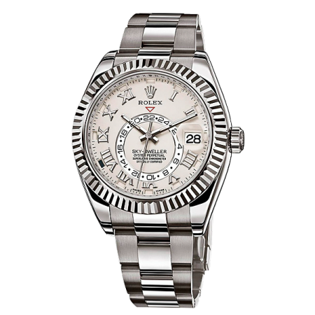 Часы Rolex SKY DWELLER 42MM WHITE GOLD