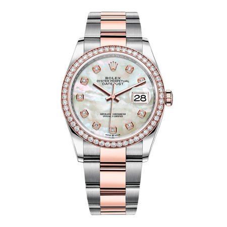 Часы Rolex DATEJUST 36MM STEEL AND EVEROSE GOLD