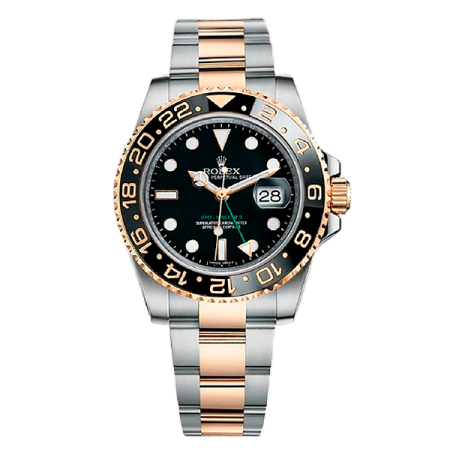 Часы Rolex GMT MASTER II 40MM STEEL AND YELLOW GOLD