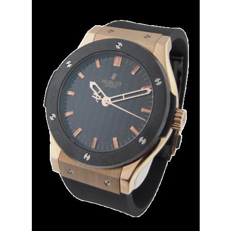 Часы Hublot CLASSIC FUSION 45мм 501.PM.1680.RX Gold Ceramic