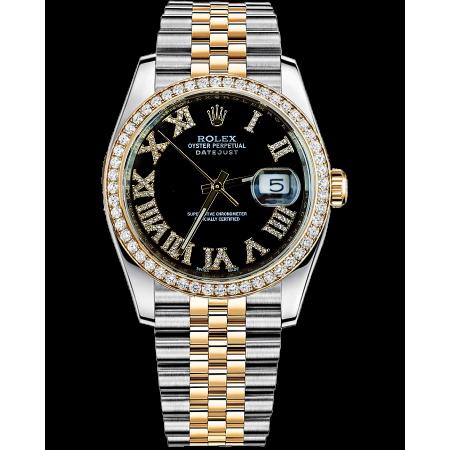 Часы Rolex Datejust 36mm Steel and Yellow Gold..Тюнинг.