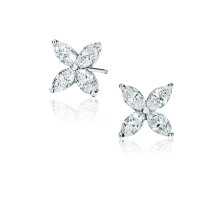 Серьги Tiffany&Co. Victoria
