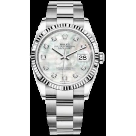 Часы Rolex Datejust 36mm Steel and White Gold126234-0020