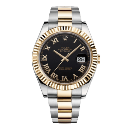 Часы Rolex Datejust II 41mm Steel and Yellow Gold 116333 bkro