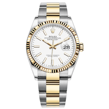 Часы Rolex Datejust 36mm Steel and Yellow Gold126233-0020