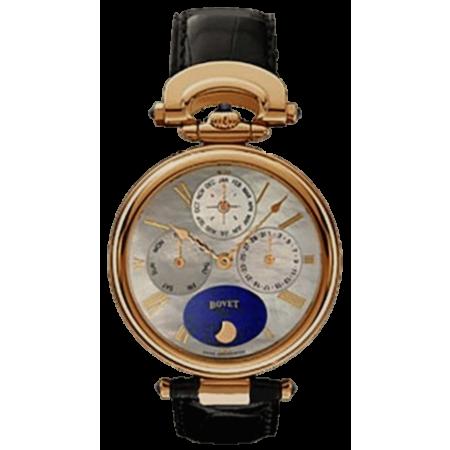 Часы Bovet Complications Perpetual CalendarRG WhiteMOP&BlueDial