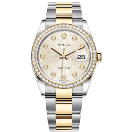 Часы Rolex Datejust 36 Oyster steel and Yellow Gold ТЮНИНГ