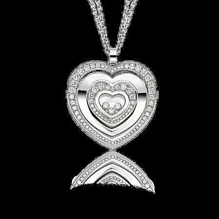 Подвеска Chopard  Happy Diamonds Happy Hearts Diamonds 797221-1002