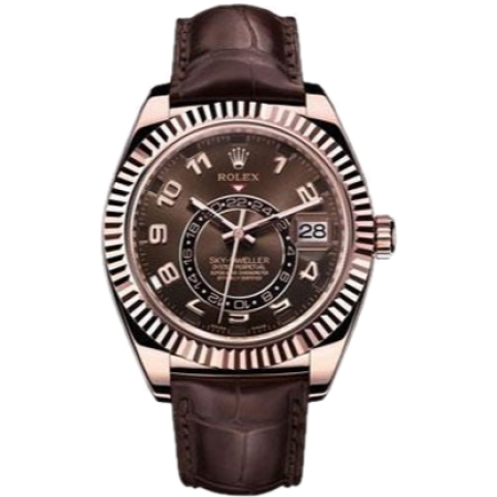 Часы Rolex Sky-Dweller Everose Gold 326135-0001