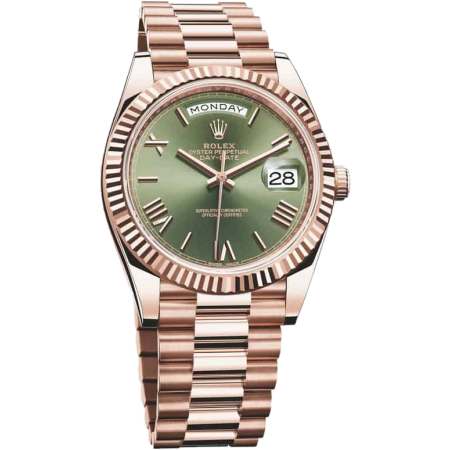 Часы Rolex DAY-DATE 40 MM EVEROSE GOLD 228235