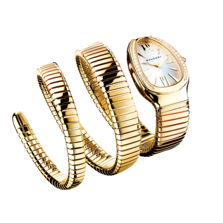 Часы Bulgari Bvlgari Serpenti Tubogas 101923 SP35C6GDG.2T