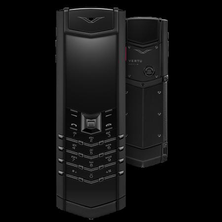 Телефон Vertu SIGNATURE S DESIGN PURE BLACK WITH RUBY