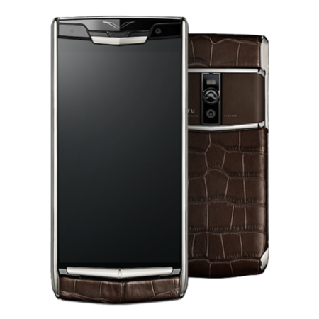 Vertu Signature Touch Cocoa Alligator
