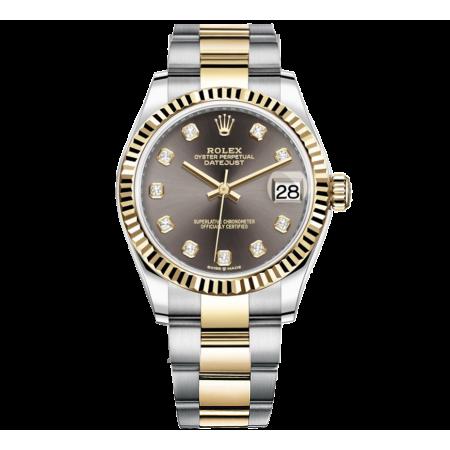 Часы Rolex  Datejust 31 Yellow Rolesor Fluted Oyster 278273 0021