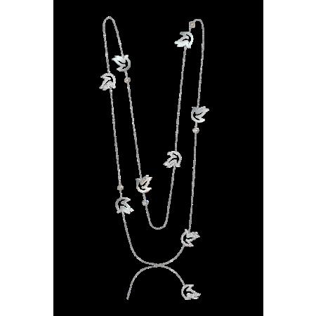 Колье Chopard  HAPPY Diamonds 819044-1001