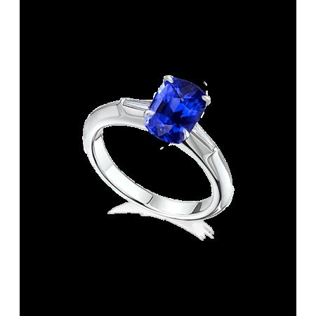 Кольцо YANA JEWELRY Yana Jewellery с сапфиром 3 04ct VIVID BLUE.