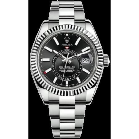 Часы Rolex SKY-DWELLER42 MM STEEL AND WHITE GOLD 326934-0005
