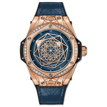 Часы Hublot Big Bang One Click Sang Bleu 39 mm465 OS 7189 VR 1204 MXM19