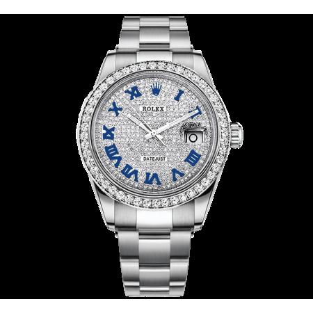 Часы Rolex DATEJUST DIAMONDS 41 MM OYSTERSTEEL 126300 ТЮНИНГ