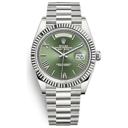 Часы Rolex Day-Date 40 mm White Gold 228239-0033
