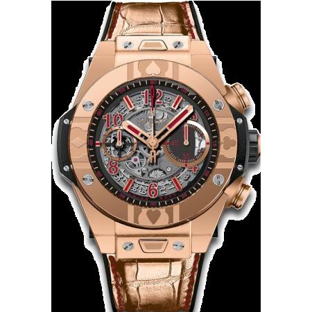 Часы Hublot 411 OX 1180 LR WPT15 Big Bang Unico 45 mm World Poker Tour  411 OX 1180 LR WPT15