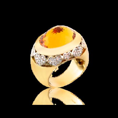 Кольцо Chopard  Classic Yellow gold and Diamonds 823829-0110