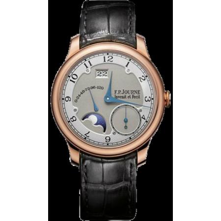 Часы F.P. Journe Octa Divine RG-Silver-Croco