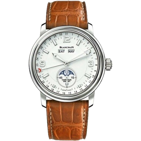 Часы Blancpain  Leman Moon Phase Complete Calendar 40mm 2863 1127 53B