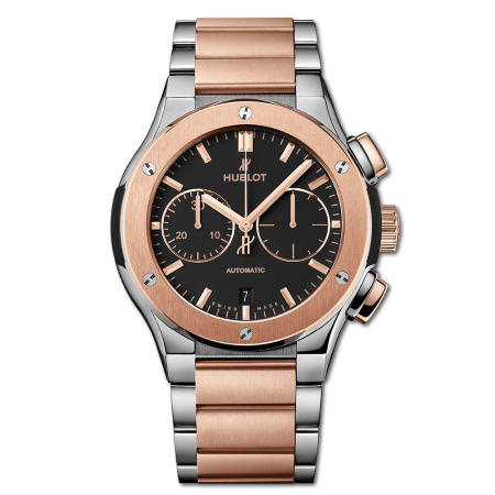 Часы Hublot Classic Fusion Chronograph King Gold 520 NO 1180 NO