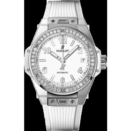 Часы Hublot Big Bang One Click Steel White Diamonds 39 mm