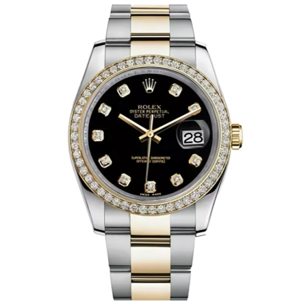 Часы Rolex Datejust 36mm Steel and Yellow Gold 126233 Тюнинг