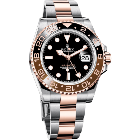 Часы Rolex GMT-MASTER II 40 MM OYSTERSTEEL AND EVEROSE GOLD