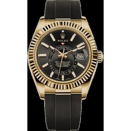 Часы Rolex SKY-DWELLER 42MM YELLOW GOLD 326238-0013