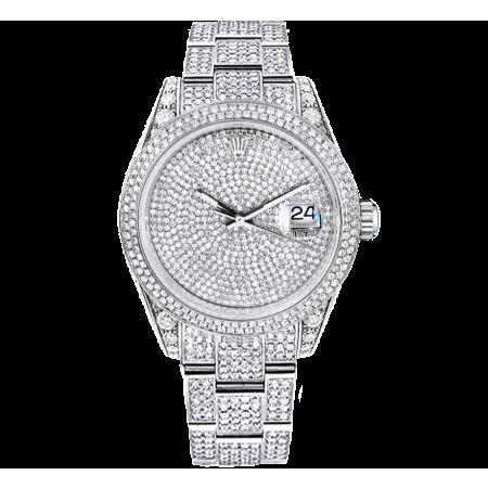 Часы Rolex Datejust 41mm Diamonds ТЮНИНГ