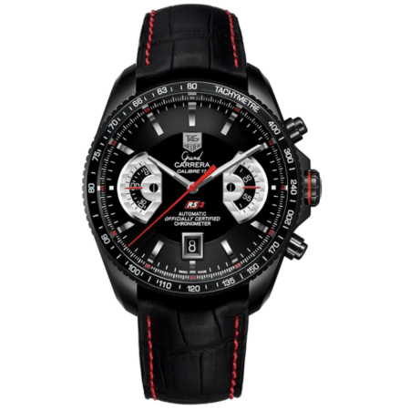 Часы TAG Heuer Grand Carrera Calibre 17 RS2 Automatic Chronograph 43 mmCAV518B FC6237