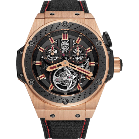 Часы Hublot King Power F1 Tourbillon 707 OM 1138 NR FM010