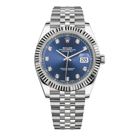 Часы Rolex Datejust 41mm Steel and White Gold 126334 0016