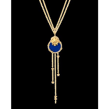 Колье Chanel длинное lion médaille Арт. J11369