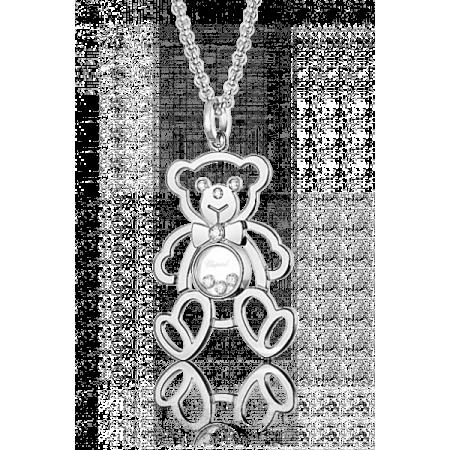 Колье Chopard  HAPPY DIAMONDS TEDDY BEAR 797418-1001