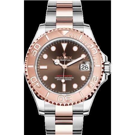 Часы Rolex YACHT-MASTER 37 MM STEEL AND EVEROSE GOLD