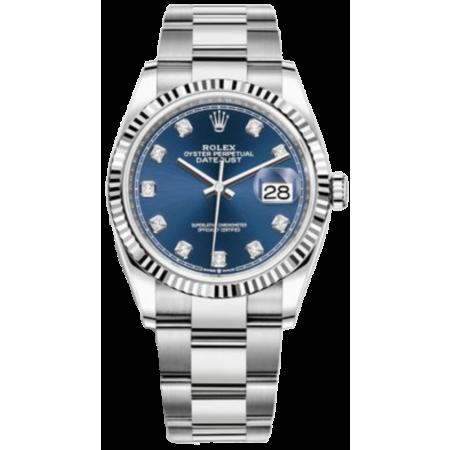 Часы Rolex Datejust 36 мм steel and white gold 116234-0038