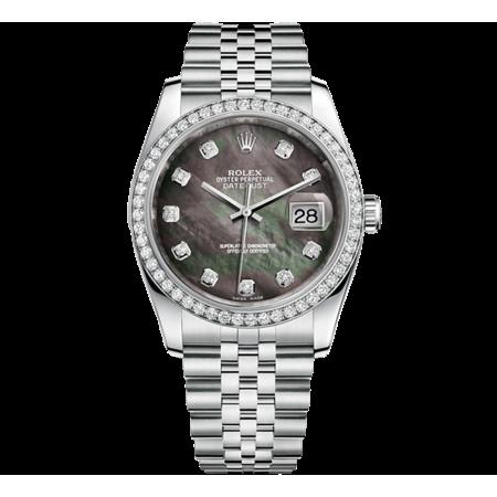 Часы Rolex DATEJUST 36 MM STEEL AND WHITE GOLD ТЮНИНГ