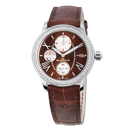 Blancpain Women`s Collection Double Time Zone - GMT 3760-1946-52B