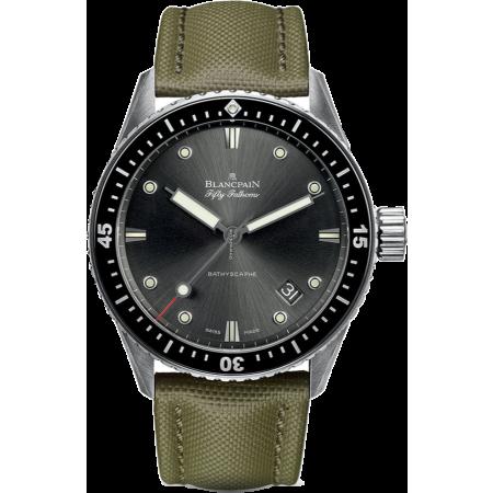 Часы Blancpain Fifty Fathoms Bathyscaphe 5000 1110 K52A