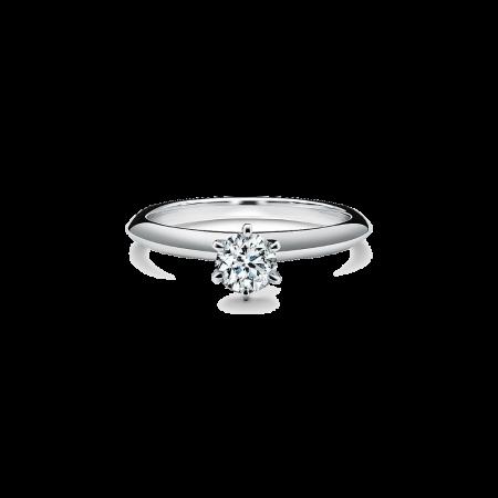 Кольцо Tiffany&Co. Помолвочное Tiffany Setting 0 31ct из платины