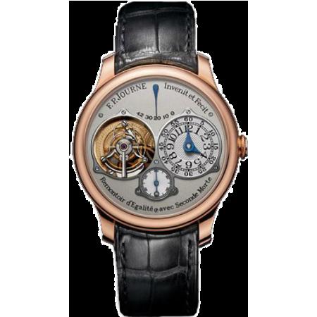 Часы F.P. Journe  Souveraine Tourbillon Souverain RG-Silver-Croco