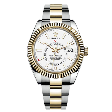 Часы Rolex SKY-DWELLER 42MM STEEL AND YELLOW GOLD