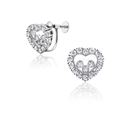 Серьги Chopard Happy Diamonds 83 6216 0 20
