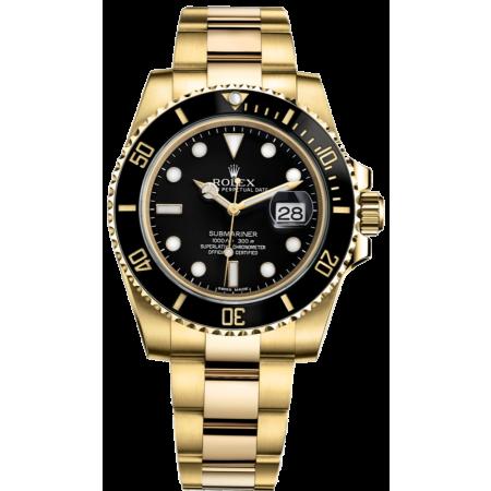 Часы Rolex Submariner Date 40mm Yellow Gold Ceramic 116618LN