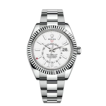 Часы Rolex SKY-DWELLER 42 MM STEEL AND WHITE GOLD